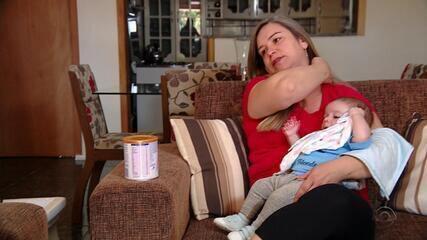 Falta de leite especial fornecido pelo governo do RS preocupa famílias de alérgicos
