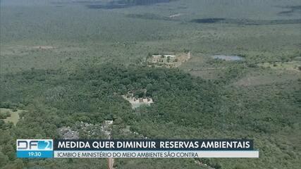 Medida provisória quer reduzir áreas do Parque Nacional e da Floresta Nacional