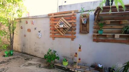 Decoração com ripas de madeira pode deixar ambientes mais despojados