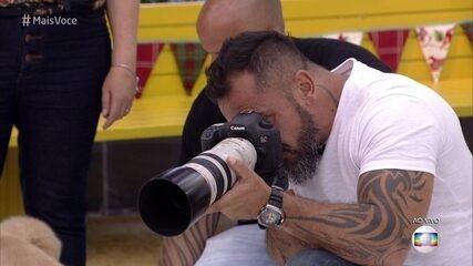 Johnny Duarte fotografa animais há mais de 20 anos