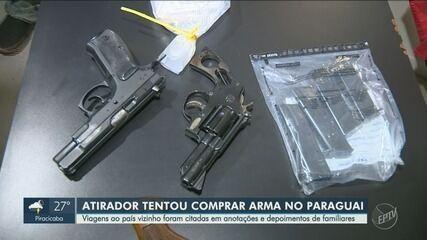 Polícia investiga se atirador da Catedral comprou armas no Paraguai