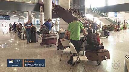 Aeroporto Internacional de Belo Horizonte volta a funcionar em Confins, na Grande BH