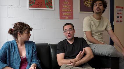 'Pais de Primeira': George Sauma e Renata Gaspar entrevistam o autor Antonio Prata