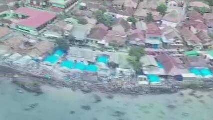 Na Indonésia, tsunami deixa 222 mortos; número pode crescer