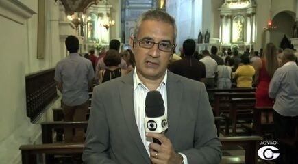 Missa de Natal é realizada na Catedral Metropolitana de Maceió