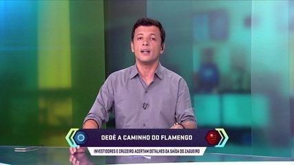 Central do Mercado: Dedé se aproxima do Flamengo