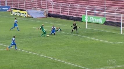 Veja os cinco gols da goleada esmeraldina na Copa São Paulo