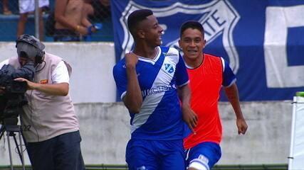 Os gols de Taubaté 2 x 1 Tubarão pela Copa São Paulo de Futebol Júnior 2019