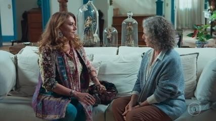 Edméia/Grace visita Margot e conta sobre a visão que teve