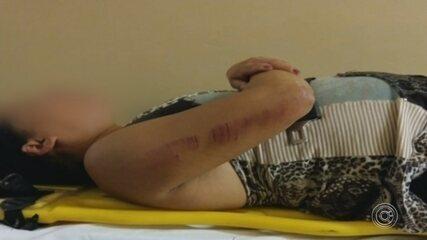 Mulher é resgatada com ferimentos graves após ser agredida pelo namorado em festa