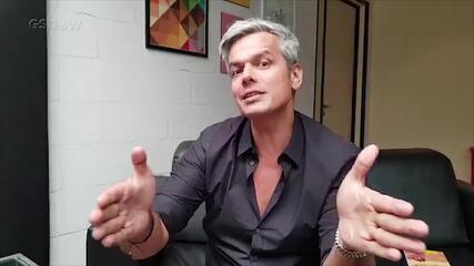 """Otaviano Costa reage a comentários dos internautas sobre o """"Tá Brincando"""""""