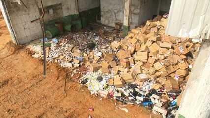 MP apura denúncias contra entidade que estaria aterrando lixo hospitalar próximo a casas