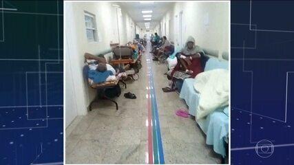 Protesto interrompe festa de aniversário do Hospital de Bonsucesso no Rio