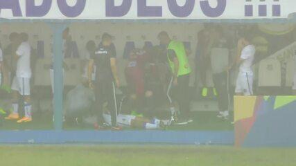 Chuva interrompe Atlético-MG 1 x 0 Água Santa em Diadema pela Copinha