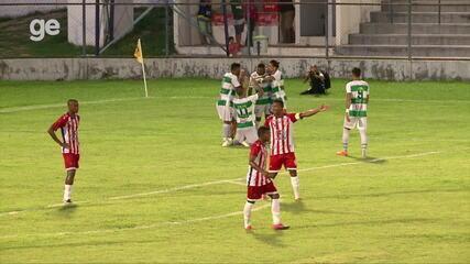 Os gols de Altos 1 x 1 4 de Julho pelo Campeonato Piauiense