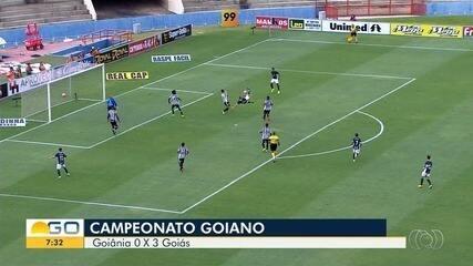 Confira tudo do clássico Go-Go na estreia do Goianão