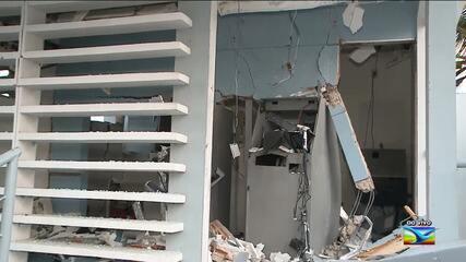 Caixa eletrônico é alvo de bandidos em São Luís