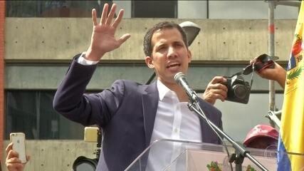 Brasil e EUA manifestam apoio a Juan Guaidó, líder da oposição da Venezuela
