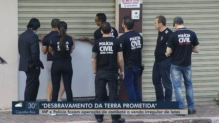 Operação combate prática de loteamentos clandestinos na zona rural de Uberlândia
