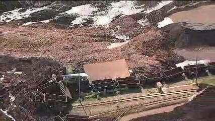 Rompimento de barragem em Brumadinho deixa cerca de 200 desaparecidos, dizem bombeiros