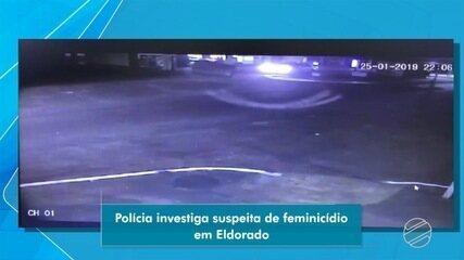 Mulher é morta após marido passar com carro em cima da cabeça dela, em Eldorado (MS)