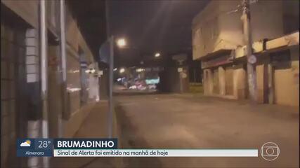 Sirenes anunciam novo risco de rompimento de barragem em Brumadinho