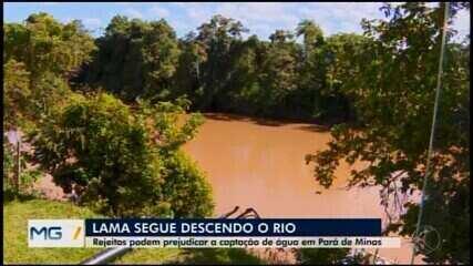 Rejeitos de barragem podem prejudicar a captação de água em Pará de Minas