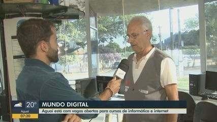 Aguaí está com vagas abertas para cursos de informática e internet