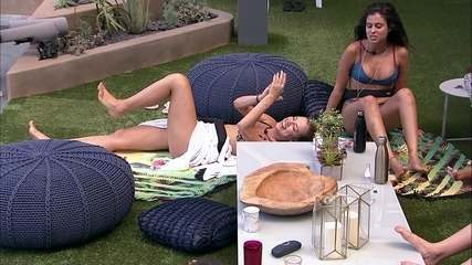 Hana brinca sobre primeira noite com Alan: 'Não dá para fazer nada aqui'