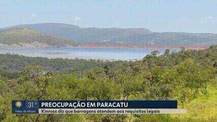 Paracatu tem o maior volume de reservatórios de mineração de MG