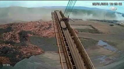 Vídeo mostra momento exato em que a lama rompe barragem em Brumadinho