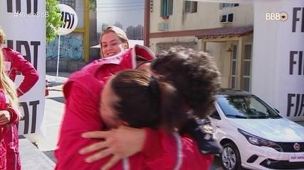 Maycon e Tereza vencem a Prova do Anjo Fiat Circuito