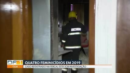 DF registra quatro casos de feminicídio em janeiro