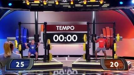 Renan desafia Roberto Carvalho no 'Força Bruta'