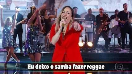 Claudia Leitte agita a galera com 'Saudade'