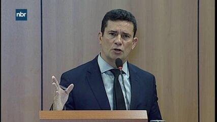 De olho no futuro, Moro fala sobre criação de banco nacional de perfil genético