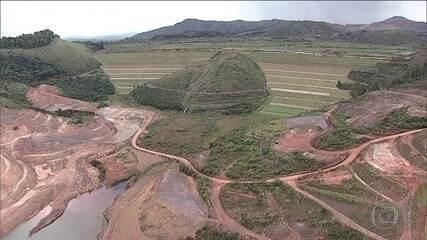 Fiscais vistoriam três barragens em Ouro Preto (MG)