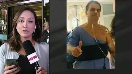 Bolsonaro tem febre e exame revela pneumonia, segundo boletim médico