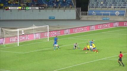 Melhores momentos: Equador 0 x 0 Brasil pelo Sul-American sub-20