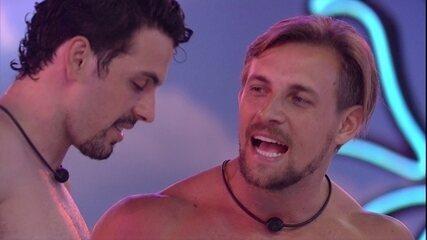 Diego para Maycon sobre calor do Anjo: 'Se eu ganhasse era teu'