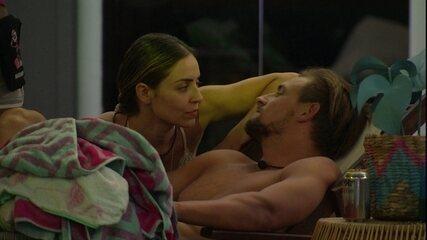 Paula comenta atitude de Diego: 'Saiu como se quisesse brigar com alguém'