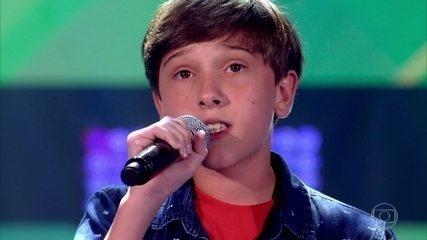 Tiago Henrique canta 'When We Were Young'