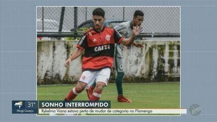 Rykelmo Viana, de Limeira, estava perto de mudar de categoria no Flamengo