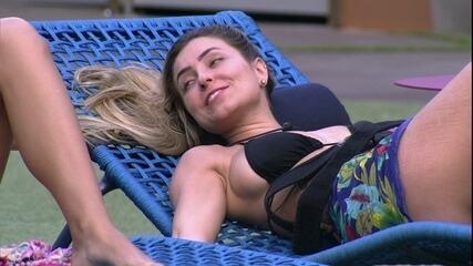 Paula aconselha Isabella sobre Maycon: 'Corta as brincaderinhas'