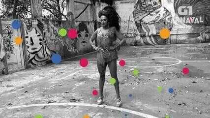 VEJA VÍDEO: Tarine Lopes é a musa da X-9 Paulistana
