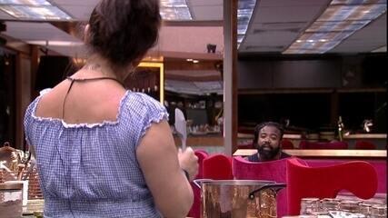 Tereza confessa ter medo de compartilhar liderança com Rodrigo