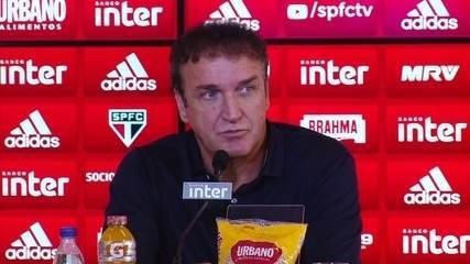 Veja a íntegra da apresentação de Cuca como técnico do São Paulo