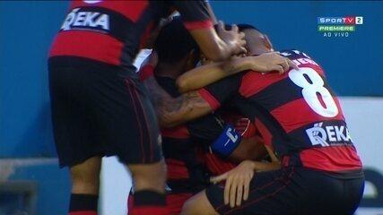 O gol de Oeste 1 x 0 São Bento, pela sétima rodada do Campeonato Paulista