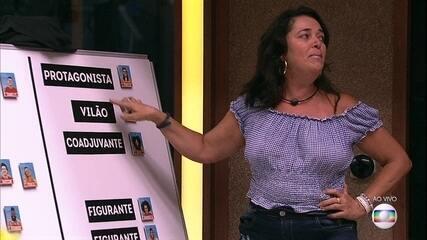 Jogo da Discórdia: Tereza elege Carolina como vilã do BBB19