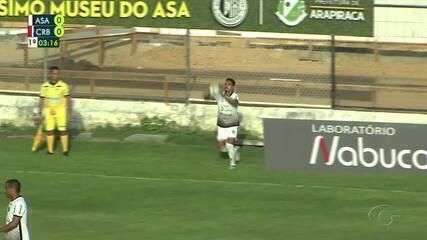 Confira os melhores momentos de ASA 1 x 0 CRB, pela 5ª rodada do Campeonato Alagoano
